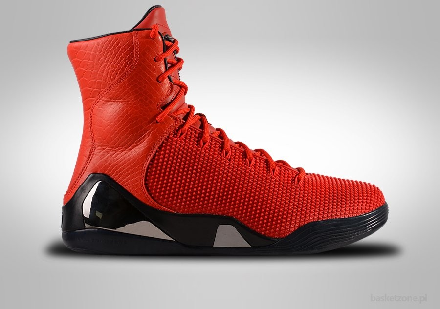 NIKE KOBE 9 HIGH KRM EXT QS RED OCTOBER