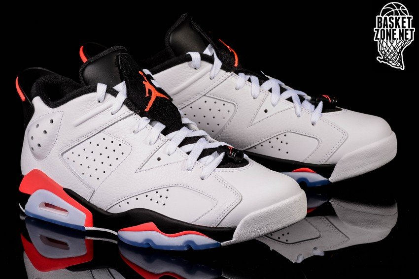 NIKE AIR JORDAN 6 RETRO LOW WHITE INFRARED
